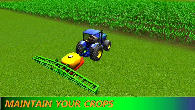Diesel Farm Tractor: Driving Simulation HD screenshot-3