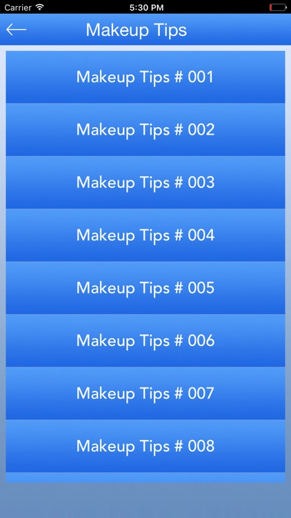 Makeup Tips 2017 screenshot-2