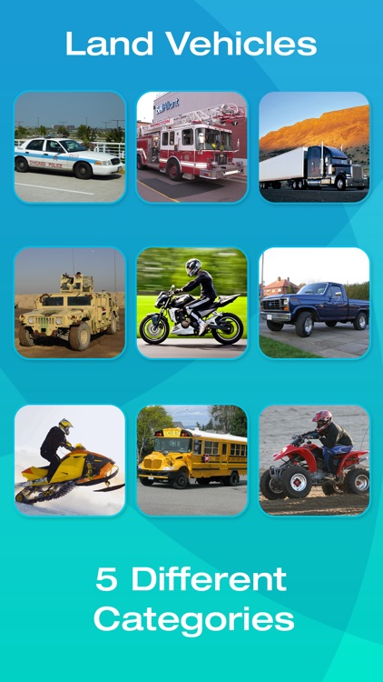 Vehicle Flashcards for Kids, Babies or Toddlers screenshot-3