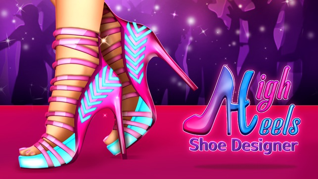 Design Your Own High Heel Shoes Games