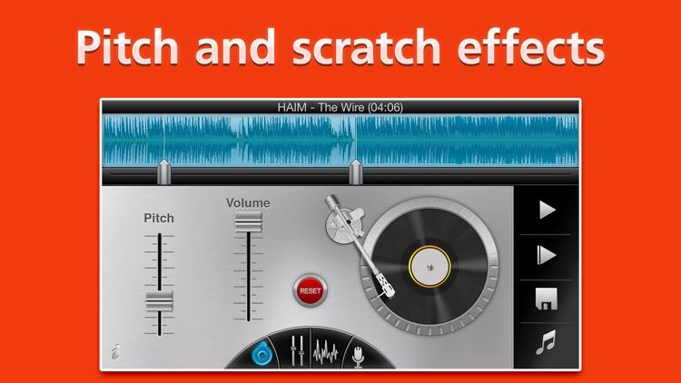Ringtone DJ Pro. Make custom MP3 Ringtones