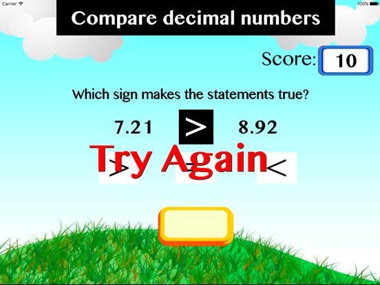 Compare decimal numbers screenshot 1