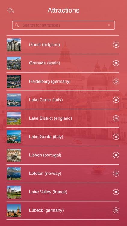 Romantic Destinations in Europe