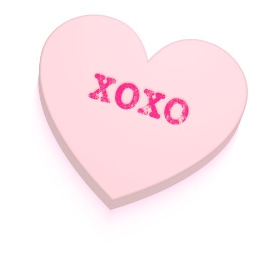 Conversation Hearts XOXO