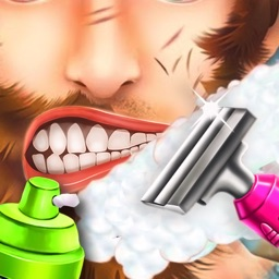 Crazy Beard Shaving Salon - Barber Games