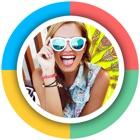 Molduras de fotos: Um fabricante de colagem e Scra icon