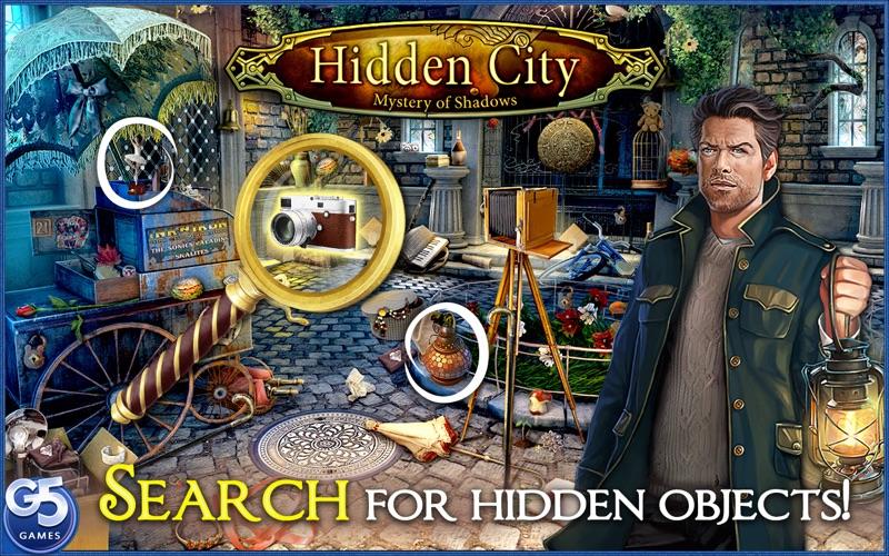 Hidden City Mystery of Shadows Screenshot