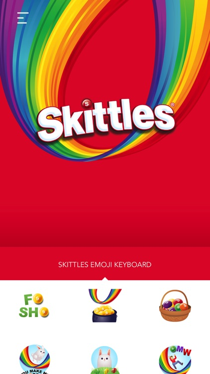 Skittles Emoji Keyboard screenshot-1