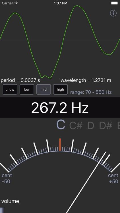 Sound Analysis Oscilloscope screenshot-3