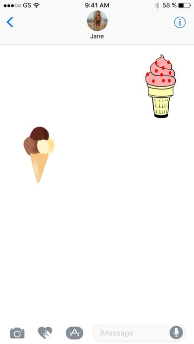 Ice Cream Seven Sticker PackScreenshot von 3