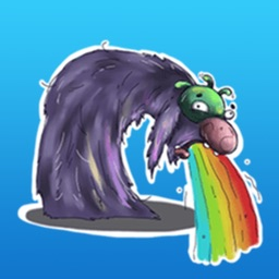 Funny Monster Stickers