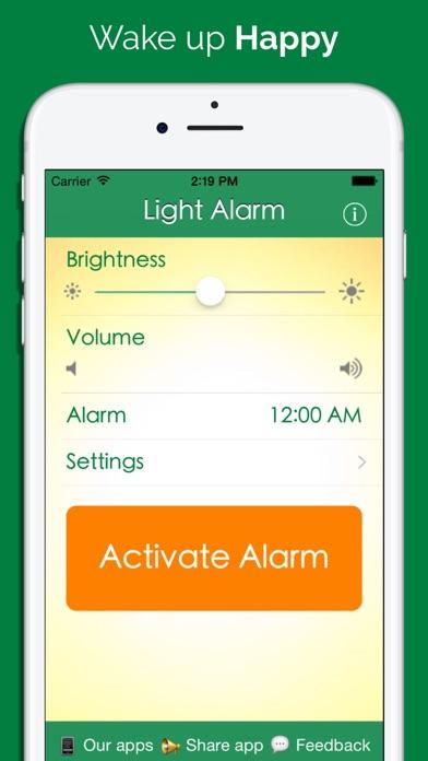 Light Alarm Free screenshot three