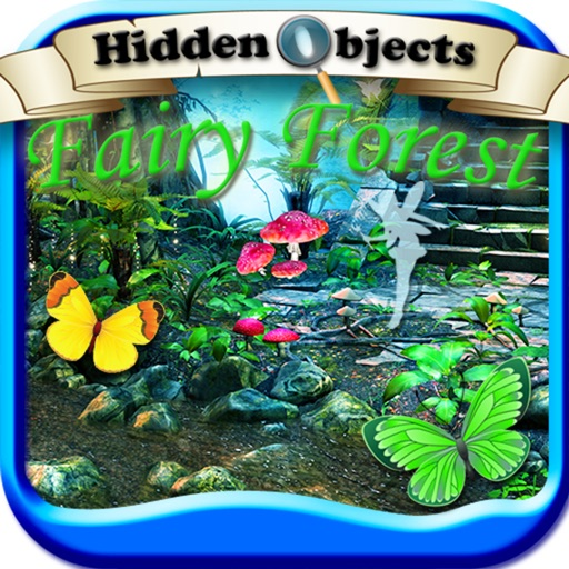 Hidden Objects: Fairy Forest Gardens Adventure