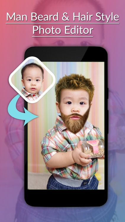 Man Beard & Hairstyle Photo Editor