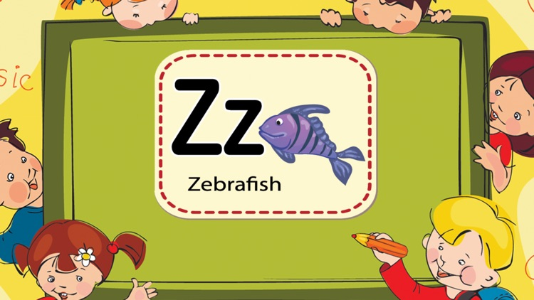 Learning ABC Tracing Flashcards Phonic for Kids screenshot-4