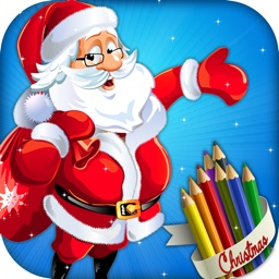 Kids Christmas Coloring Book - Free Kids game