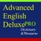 ***Advanced Deluxe Dictionaries And Thesaurus Pro is selective collection designed for users of advanced level