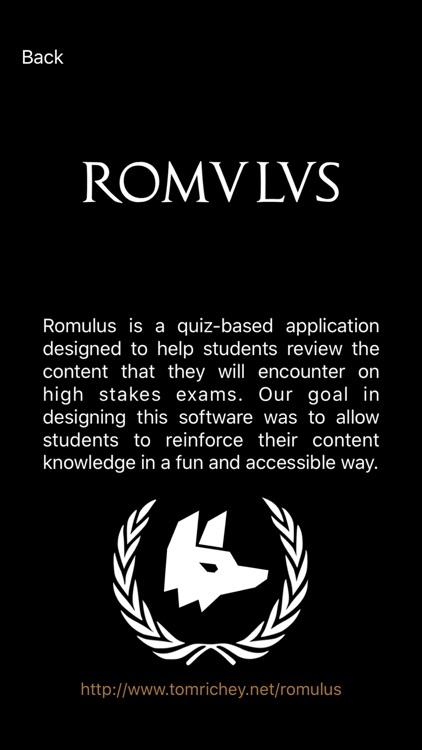 Romulus APUSH Review