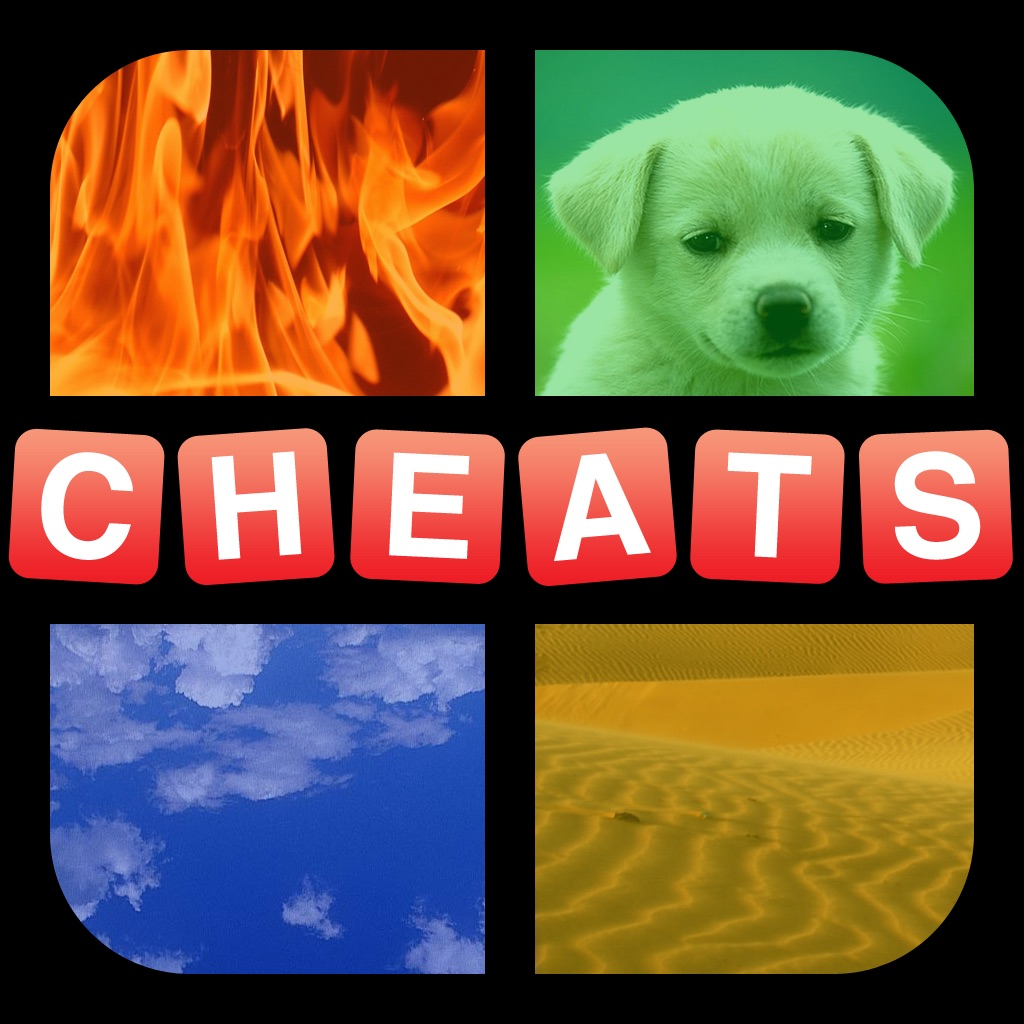 """Cheats for """"4 Pics 1 Word"""" - All Answers Free hack"""