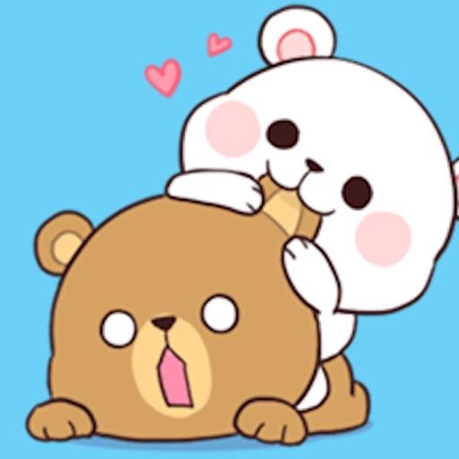 Milk and Chocolate Lovely Bear