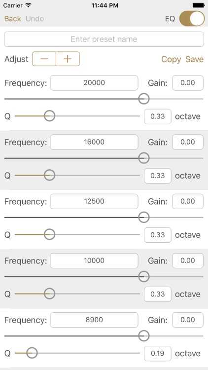 Studio Music Player Pro | 48 band eq + lyrics screenshot-1