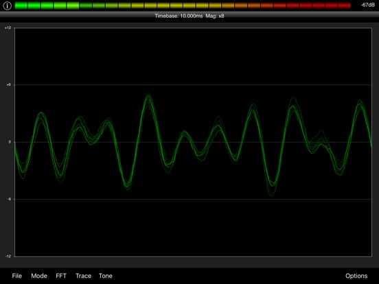 Screenshot #6 pour PocketRTA HD - Spectrum Analyzer