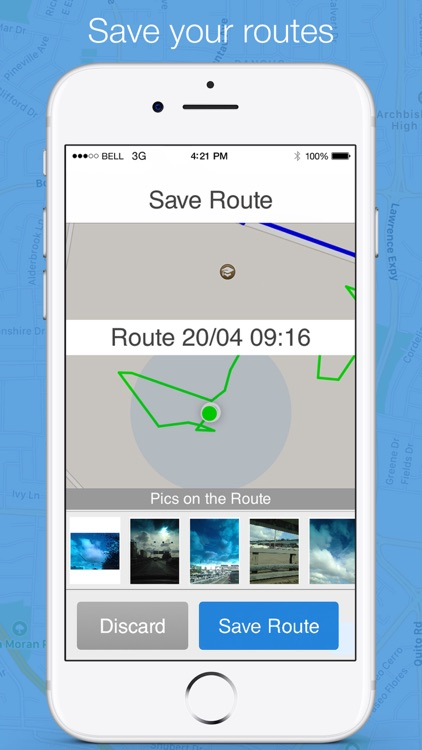 Running distance tracker - find the way back screenshot-4