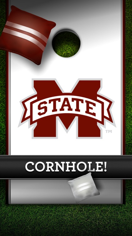 Mississippi State Bulldogs Cornhole