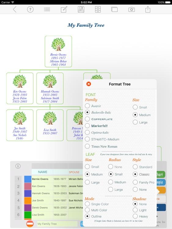 Family Tree App screenshot-3