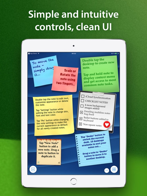 abc Notes - ToDo, Checklist & Sticky Note Application screenshot