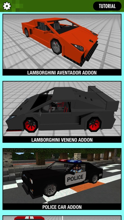 CARS ADDONS for Minecraft Pocket Edition screenshot-3