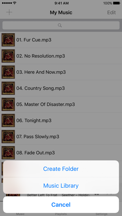 Screenshot #1 pour Music DL for iPhone – Get Your Music