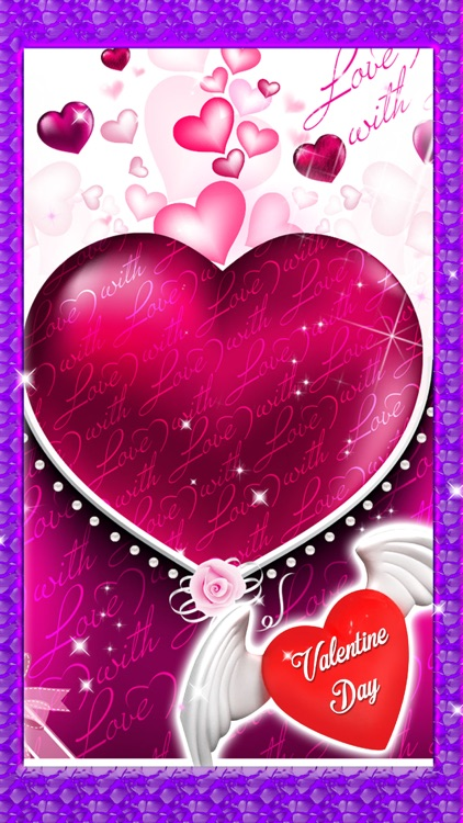 Valentine Day Love Card Maker - Greeting Card Game screenshot-3
