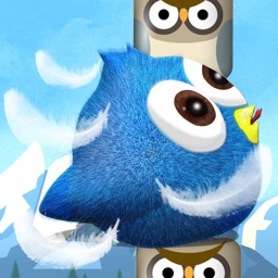 Flappy Fool HD - Blue bird in adventure maze game