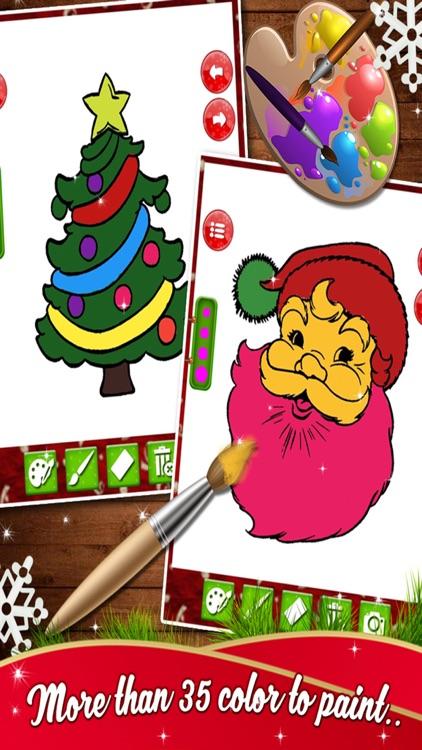Kids Christmas Coloring Book - Free Kids game