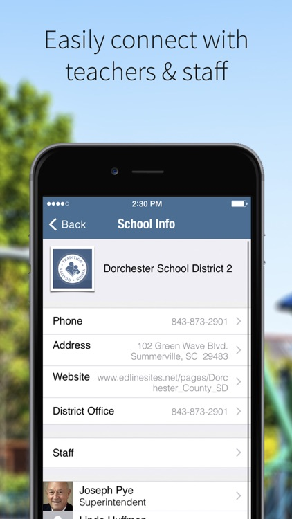 Dorchester School District Two screenshot-2