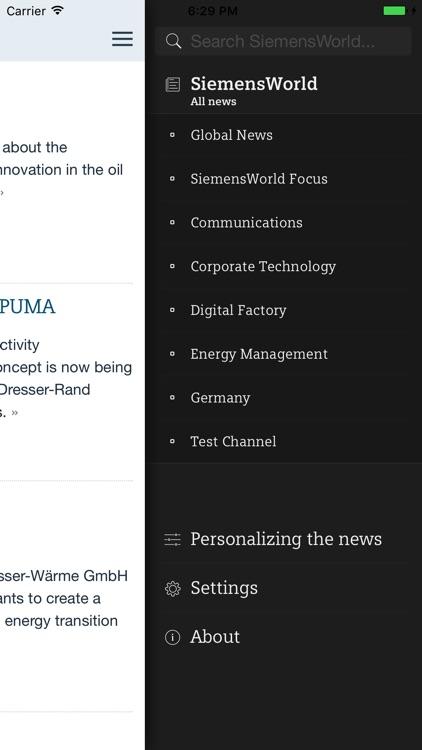 SiemensWorld