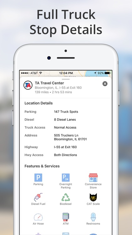 TruckMap - Truck GPS Routes screenshot-4