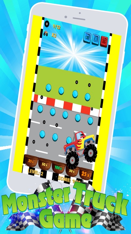 Monster Trucks! Fun 2 3 4 year old games for kids