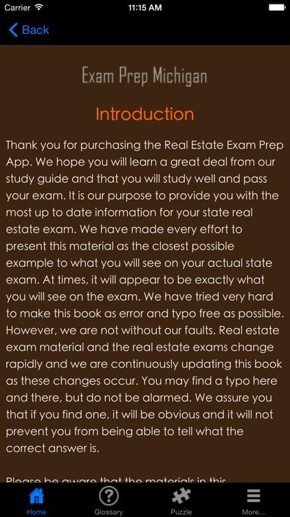 ExamPrepMI Michigan Real Estate Agent Exam Prep.