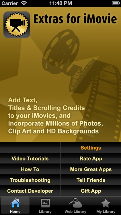 Extras for iMovie