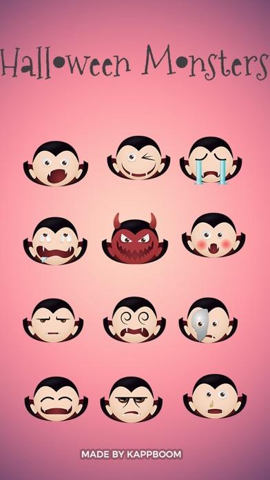 Halloween Vampire Emoticons screenshot one