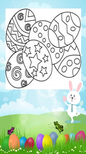 Coloring Book For Kids Easter Day Painting Game On The App Store