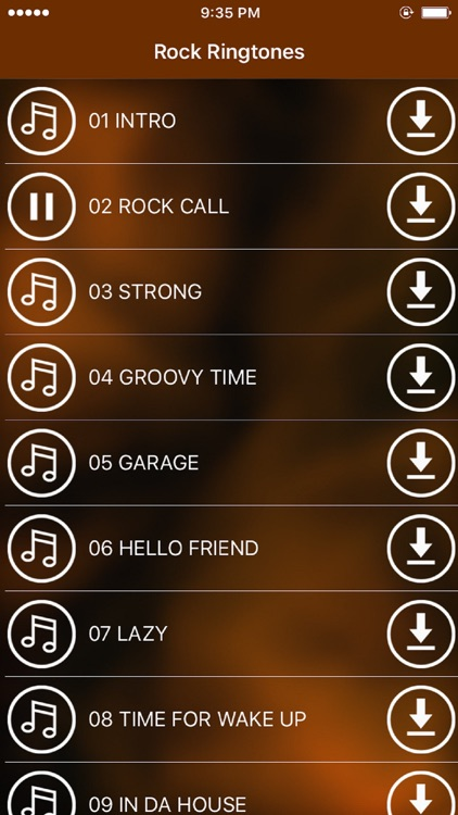 Rock Ringtones – Cool popular melodies for free