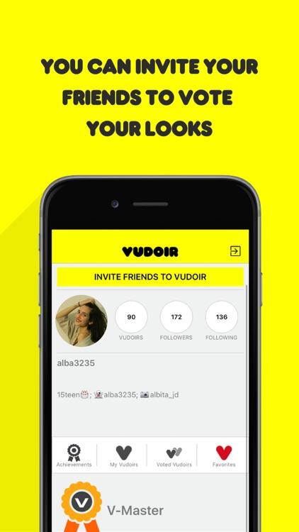 Vudoir - Fashion decisions screenshot-4