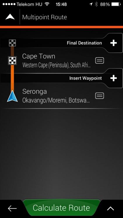Tracks4Africa Overland Navigator app image