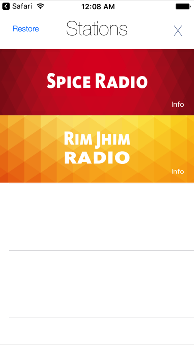 ITMB Radio screenshot three