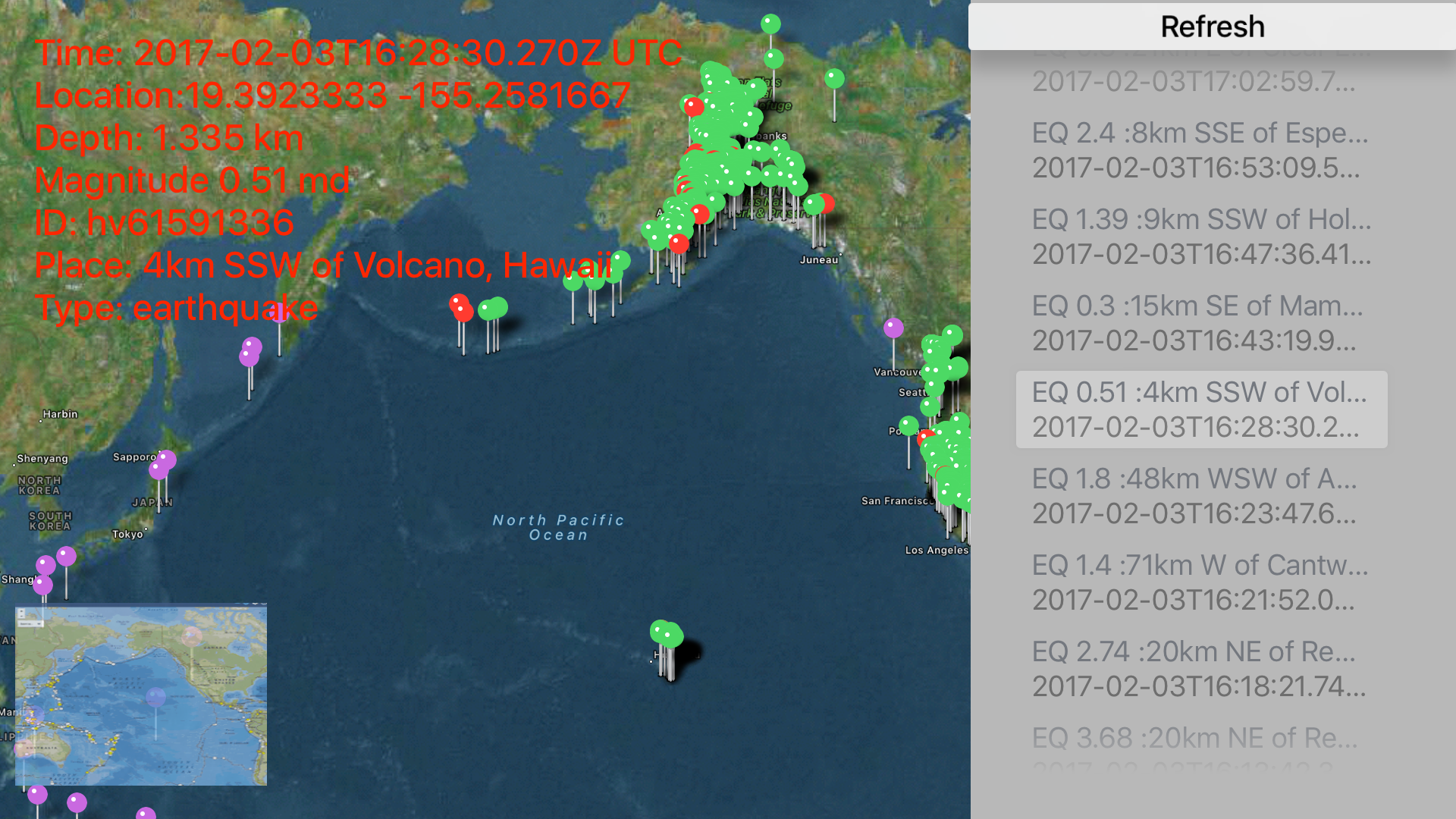 Instant USGS Earthquake Lite screenshot 12