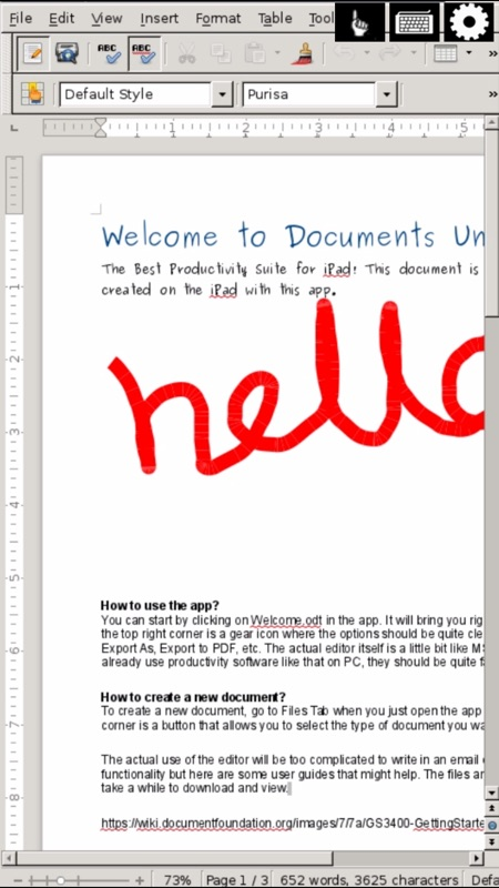 Open Word for Microsoft Documents & Office Writer - Online