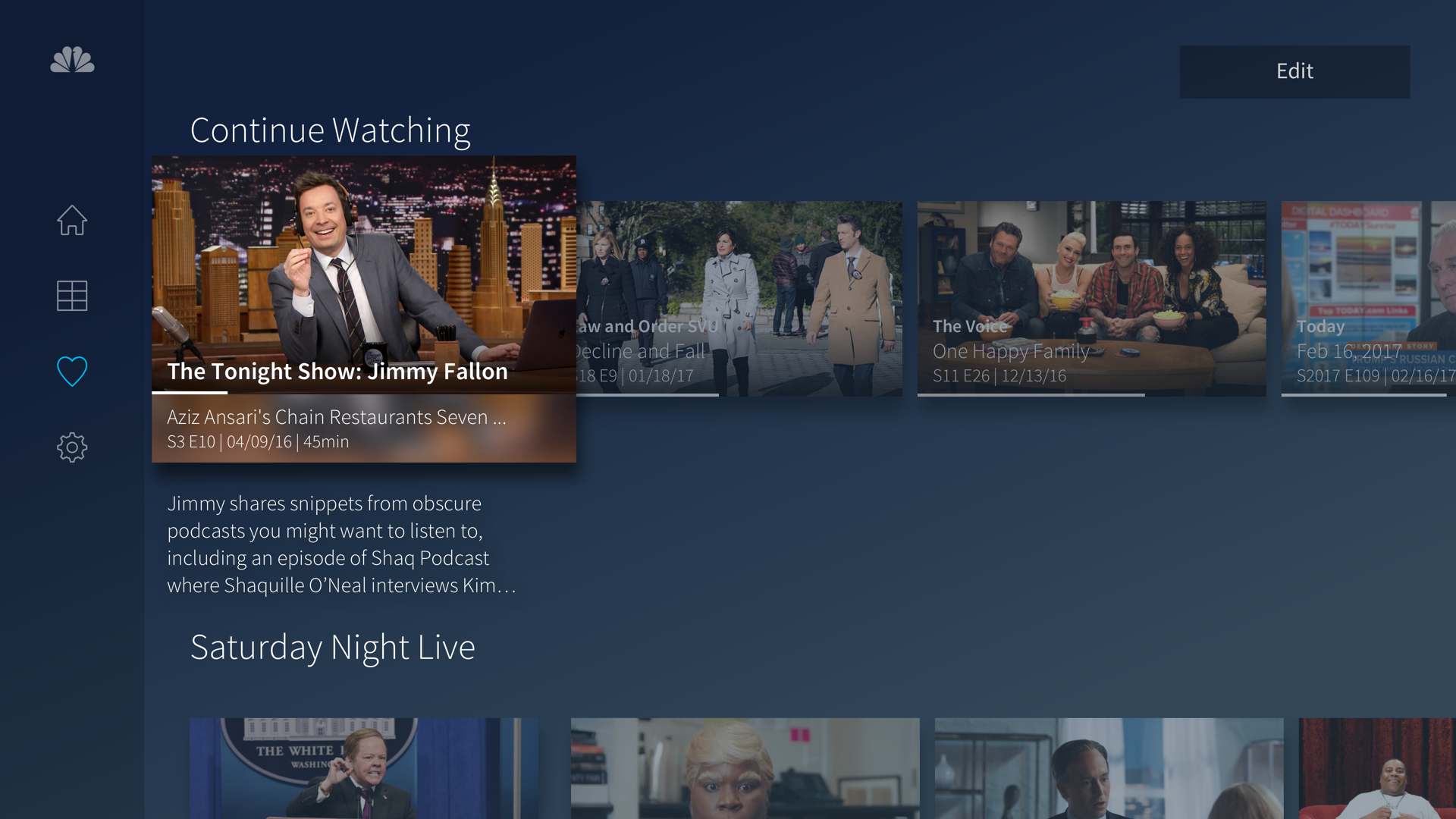 The NBC App – Stream TV Shows screenshot 15